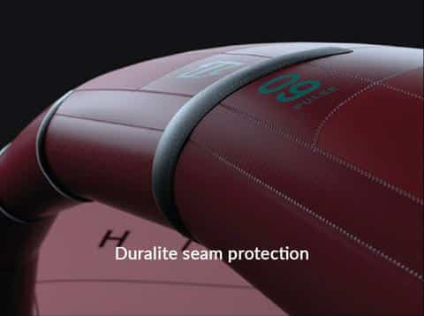 North Kite technology - Seam protection
